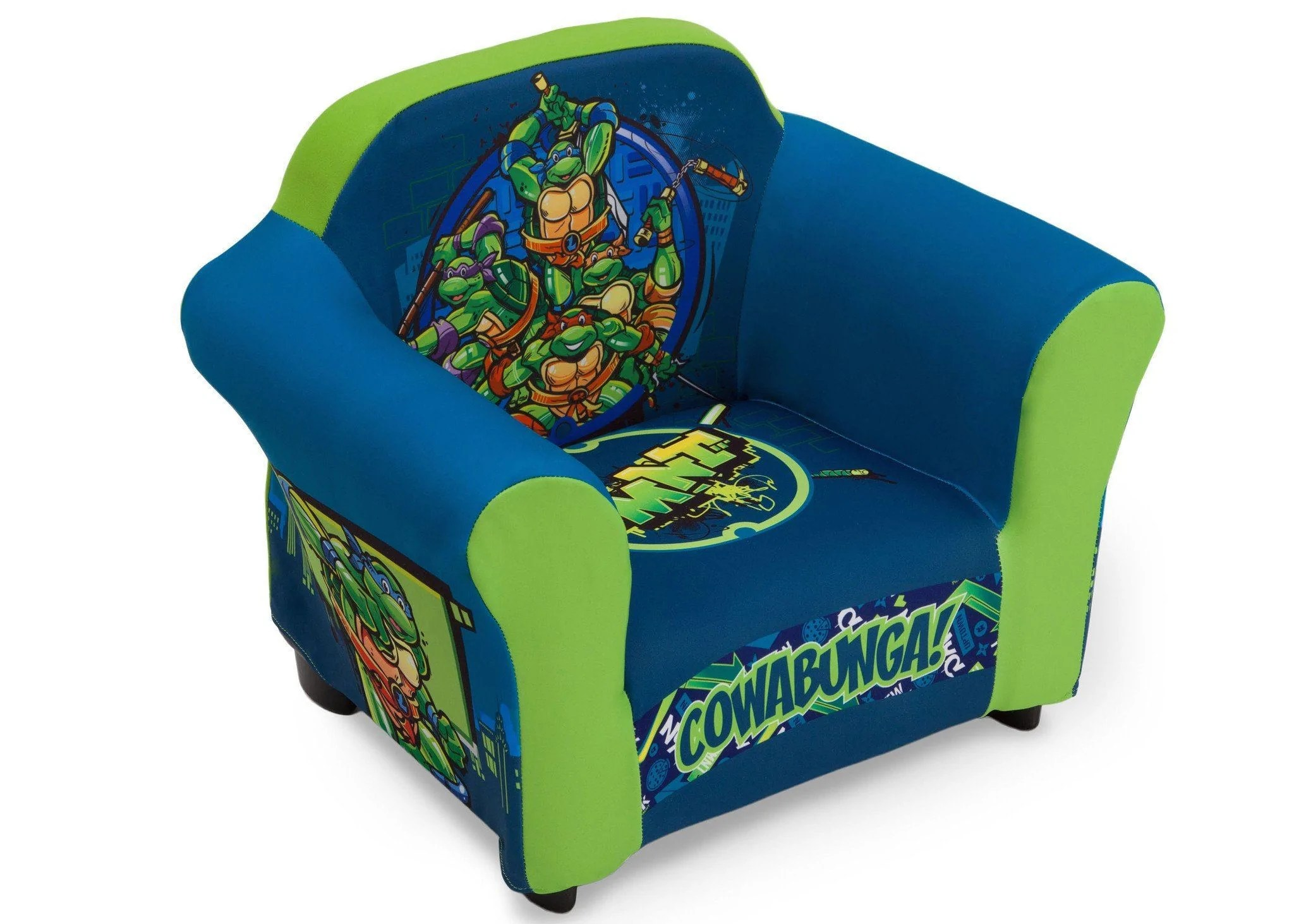 ninja turtles chair design simple nickelodeon teenage mutant upholstered