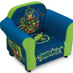 Ninja Turtles Chair Hanging Decor Nickelodeon Teenage Mutant Upholstered With Delta Children Right View A1a