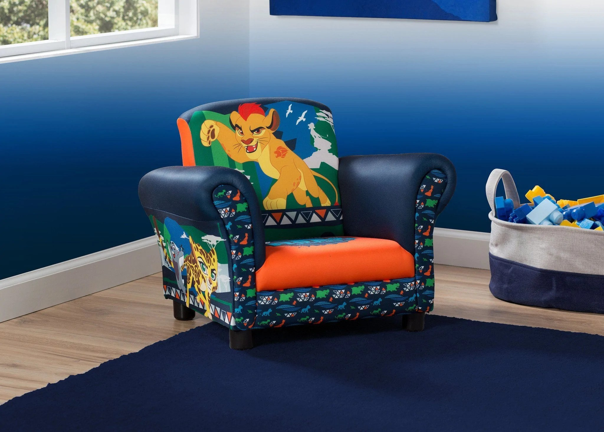 Lion Chair The Lion Guard Upholstered Chair Delta Children