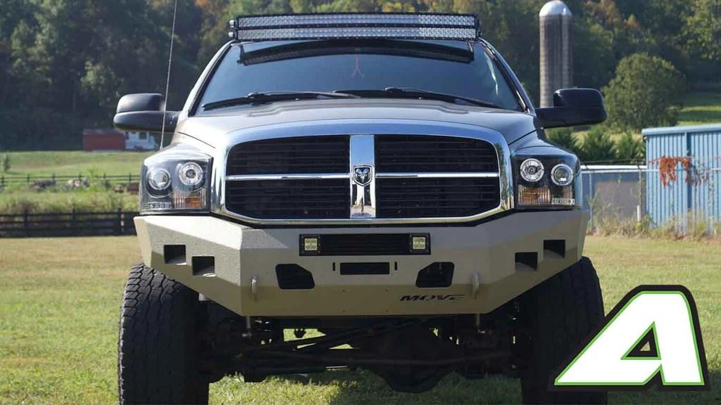 2004 Dodge Ram 1500 With Light Bar
