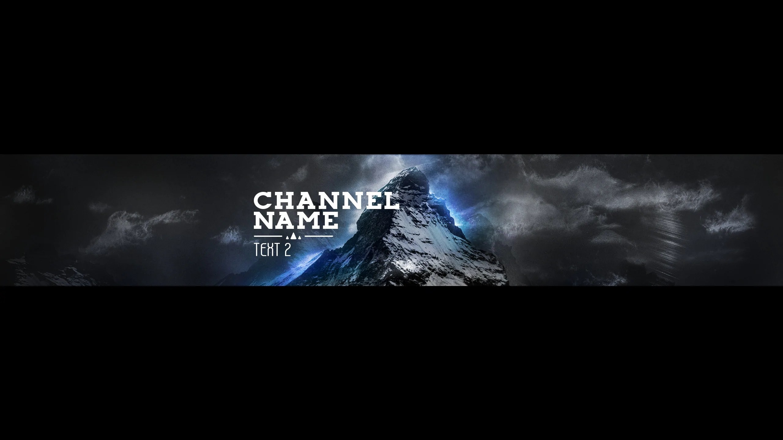 New YouTube Banner Mountain Top Added  Woodpunchs