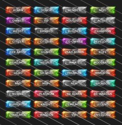 rank minecraft ranks server slabs stone tags icons packs pvp buycraft twitch pack logos overlay