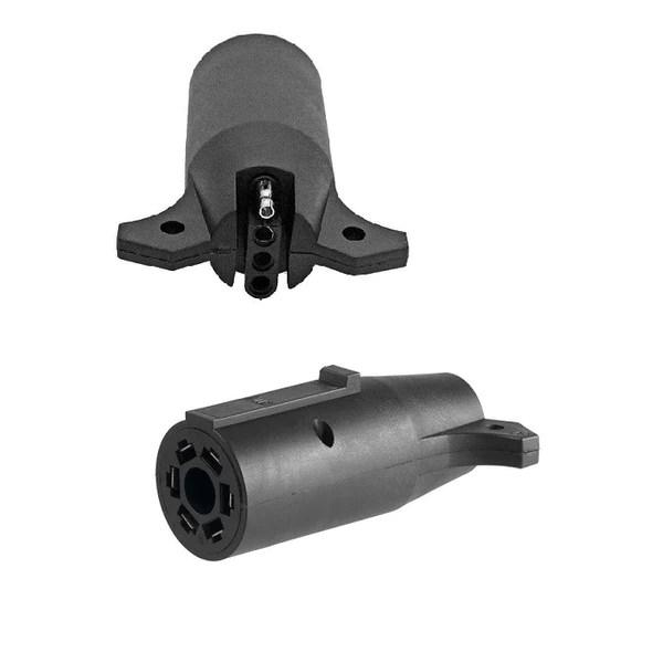 Trailer Plug Adapter  4 Prong Trailer Plug to 7 RV Blade Truck – wwwOrderTrailerParts