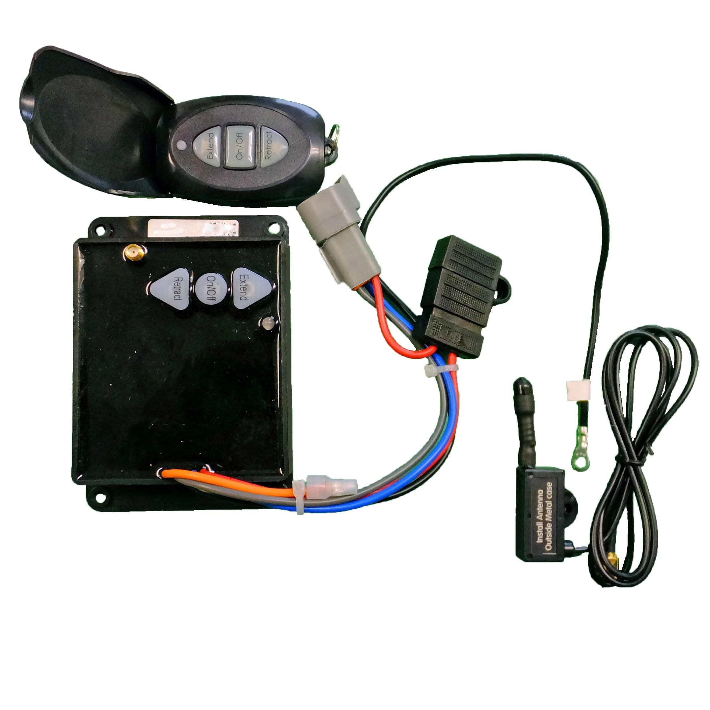 wireless dump trailer remote kit bucher easy install power up gravi www ordertrailerparts com [ 2432 x 2432 Pixel ]
