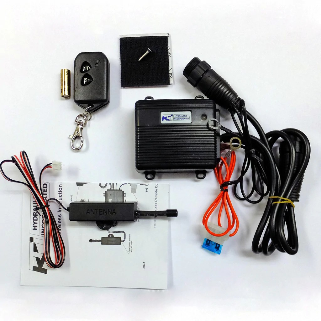 kti hydraulic pump wiring diagram ge transformer wireless dump trailer remote kit easy install www