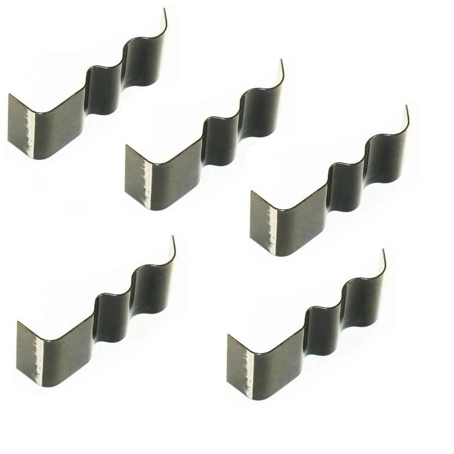 medium resolution of spring steel wire clips weld on