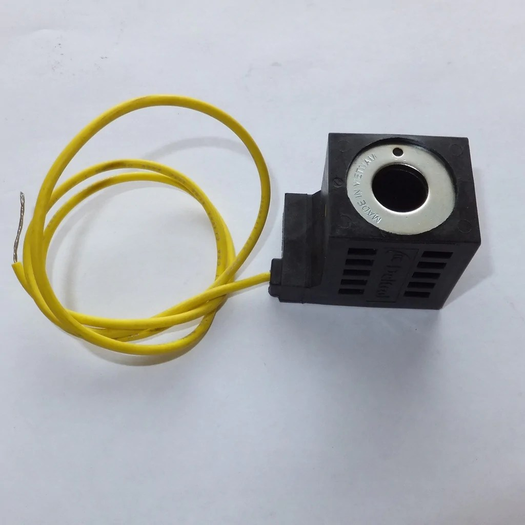 Valve Coil, 12V, 1 Wire for Bucher Pump M3319 (OLD STYLE