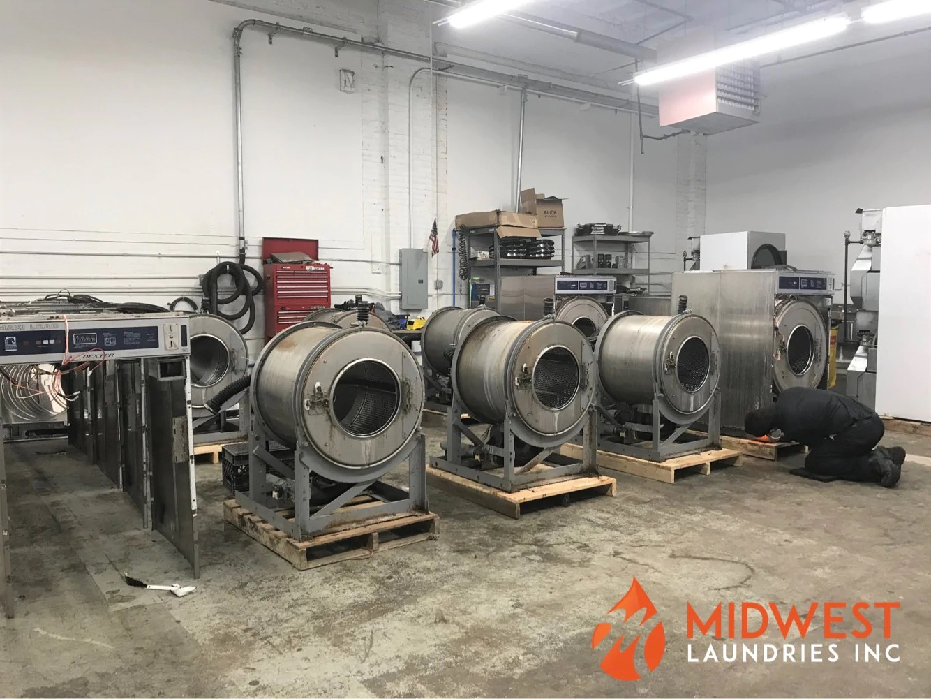 midwest laundries rebuilding coin op washers  [ 1334 x 1001 Pixel ]