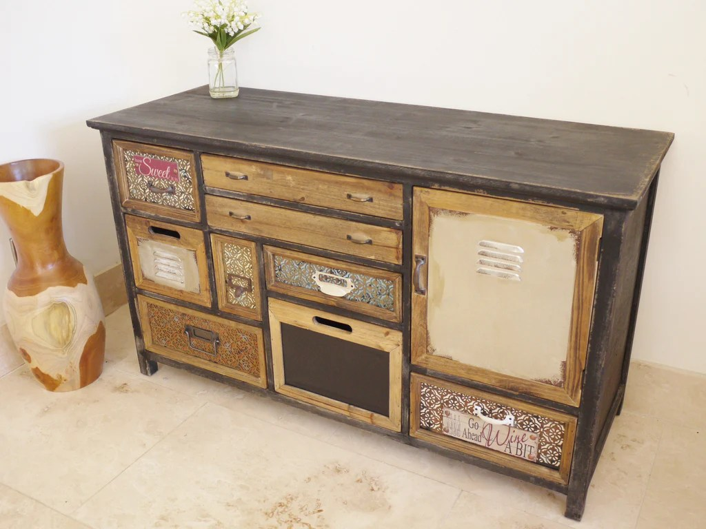 living room glass display cabinets the best furniture quirky vintage industrial chic multi drawer apothecary ...