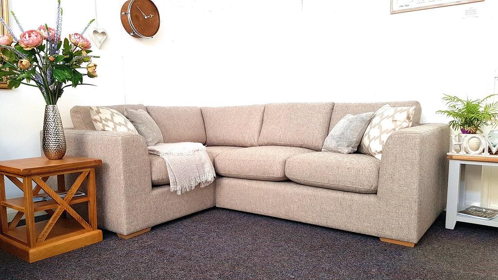 Debenhams Jackson Large Fabric Corner Sofa Only 999 Was 3 100