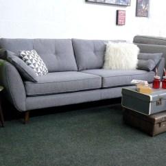 Dfs French Connection Quartz Sofa Review Grey What Color Rug Zinc Express Www