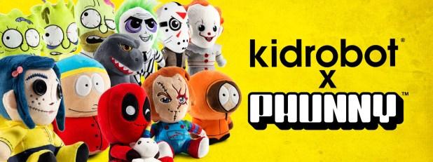 PHUNNY Plush by Kidrobot - Chucky Plushies, Coraline Plushies, Marvel Plushies