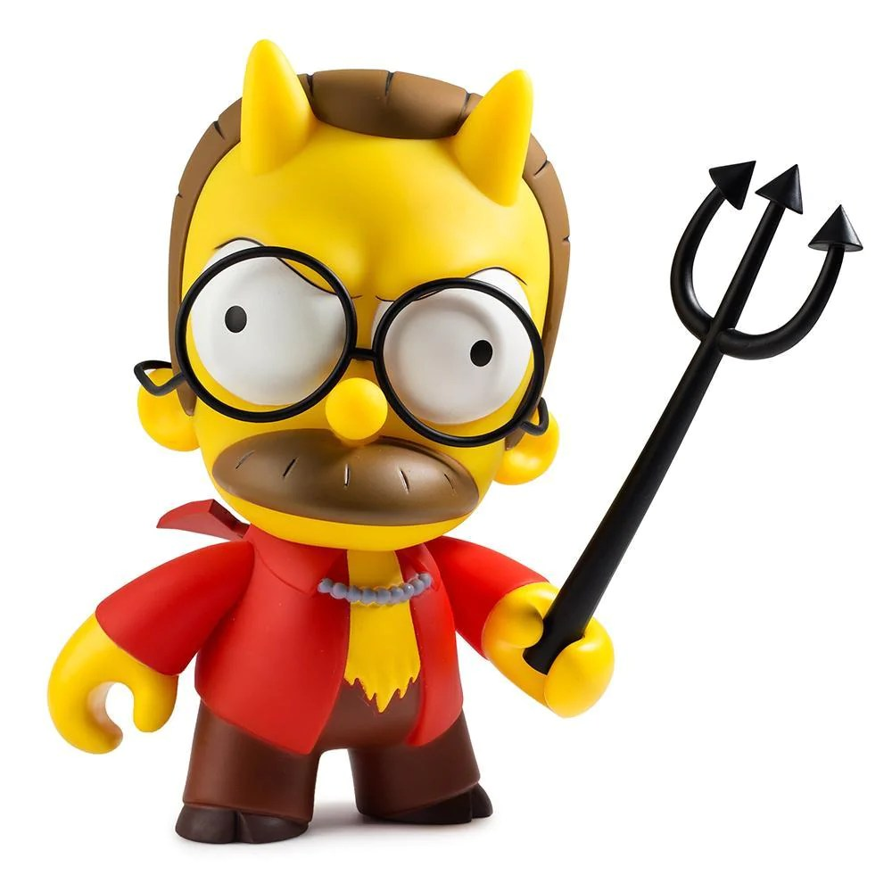 the simpsons devil flanders
