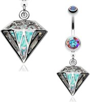 Urban Diamond Belly Button Rings - Navel Rings Australia ...