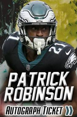 Patrick Robinson Autograph Signing Event - Super Bowl Experience (Saturday)