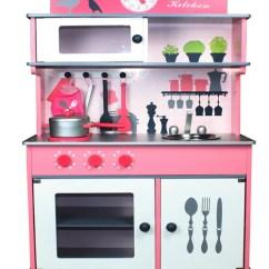 Wood Kitchen Playsets Delta Faucet Wooden Toy Plextu Kids Pretend