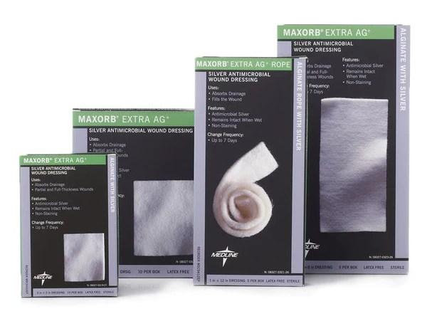 Maxorb Ag Silver Alginate  Salt Lake Medical  Wound Supply