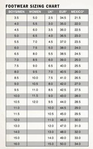 Vans shoes size chart also  spitfire slip on pro boarders rh boardersla