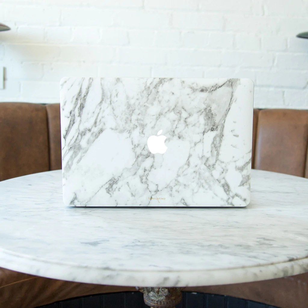 Marble Macbook Skins And Cases Uniqfind