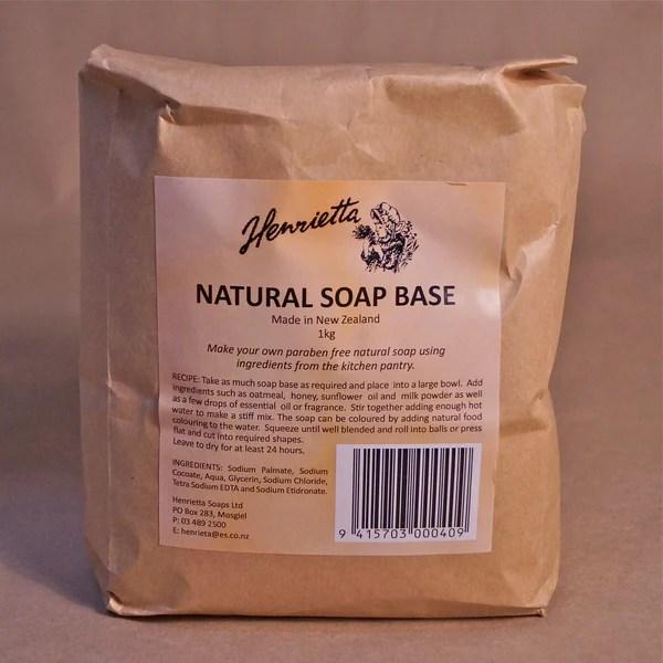 Soap Base Henrietta's Natural – Hands Craft Store