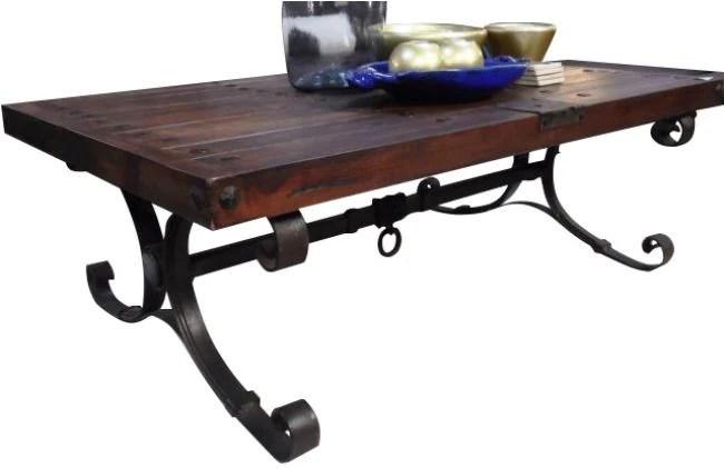 reclaimed wood talamantes coffee table