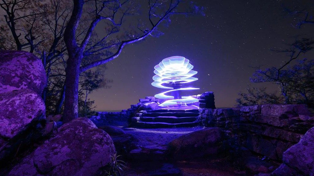 Light Painting Tutorial How To Light Paint A Spiral
