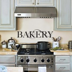 Art For The Kitchen White Table Set Bakery Wall Decal Decor Sticker 24x7