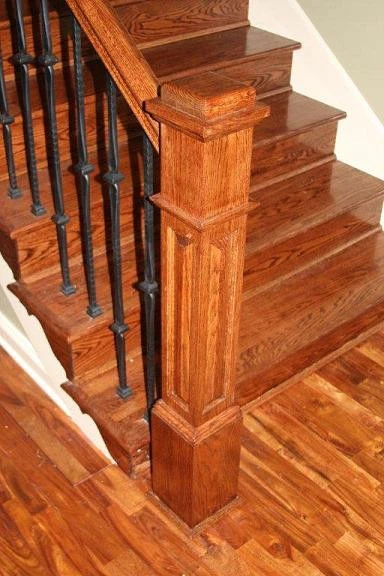 Creating Your Staircase – Choosing The Newel Posts Stair Parts Usa | Handrail To Newel Post | Fasten | Baluster | White Oak | Glass Balustrade | Landing