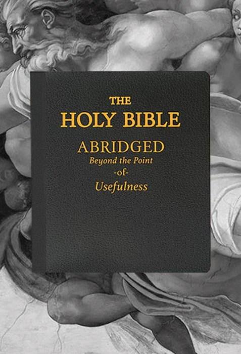 the holy bible abridged