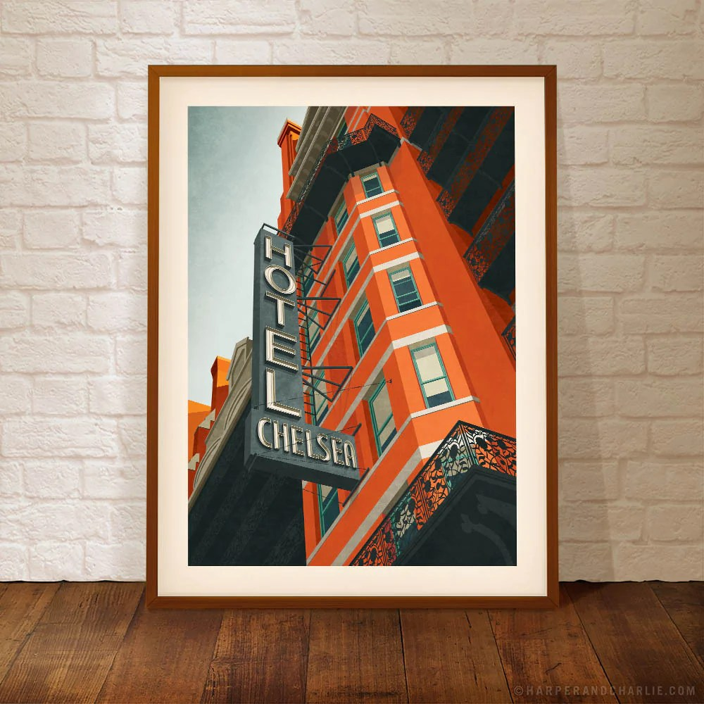 Chelsea Hotel York Print Online Fast Delivery