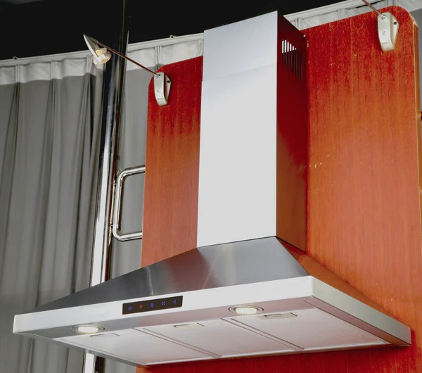 36 inch kitchen cabinets chili pepper decorating themes 36-inch stainless steel wall hood (model stl90-led ...