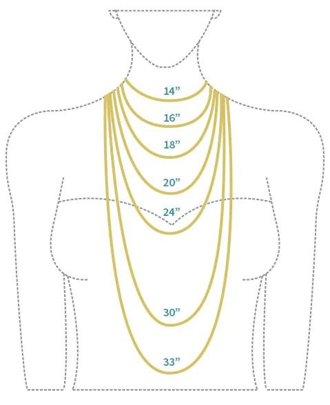 Necklace length diagram also melissa scoppa rh melissascoppa