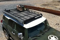 Toyota FJ Cruiser Low Profile Rack with Full Mesh Floor