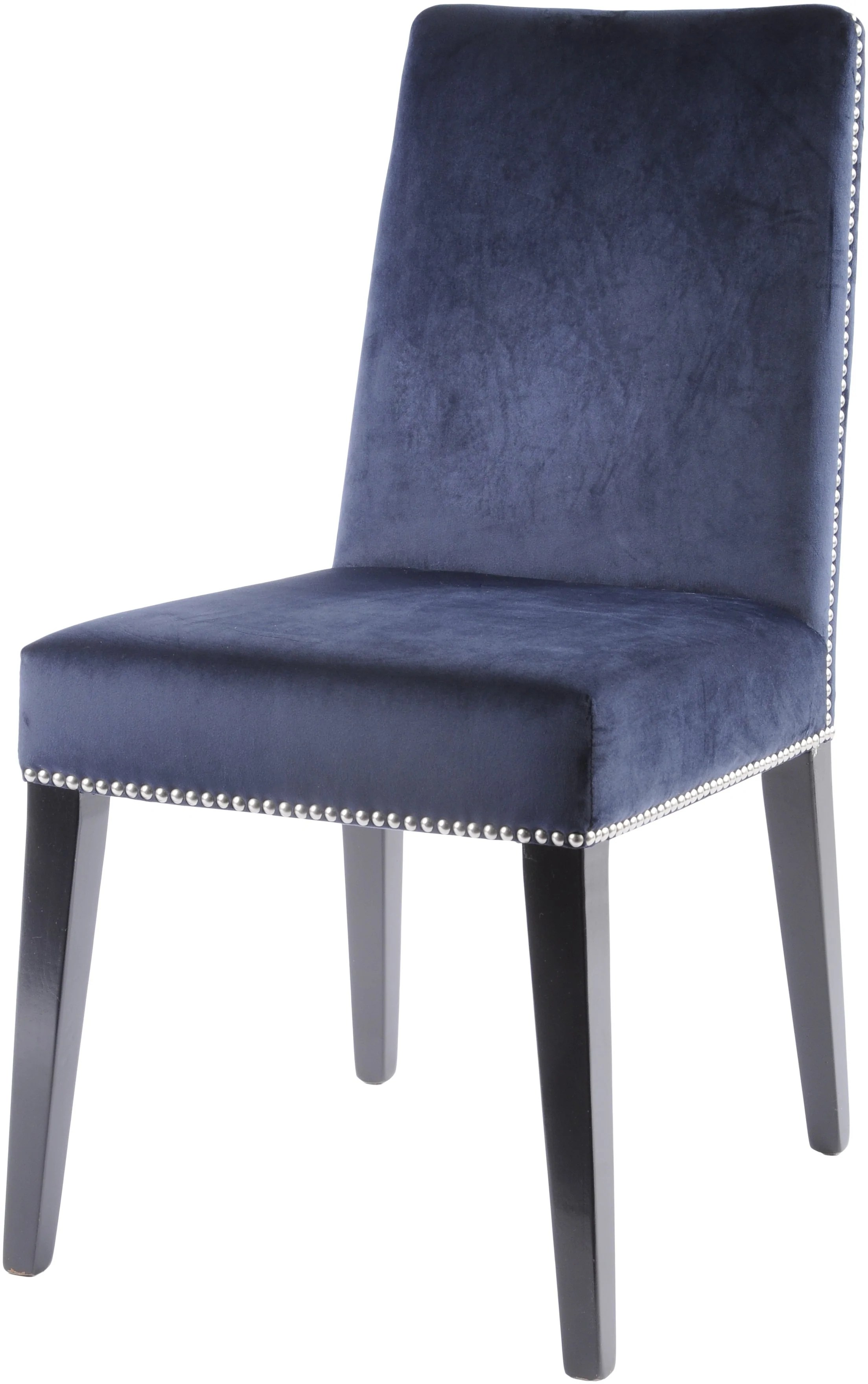 hight resolution of midnight navy dining chair set of 2