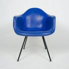 Fiberglass Shell Chair Pink High Chairs Eames Yellow Blue Herman Miller Upholstered Dax 1