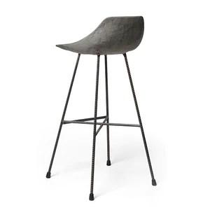 bar chairs concrete chair mounted keyboard tray hauteville stool by lyon beton do shop