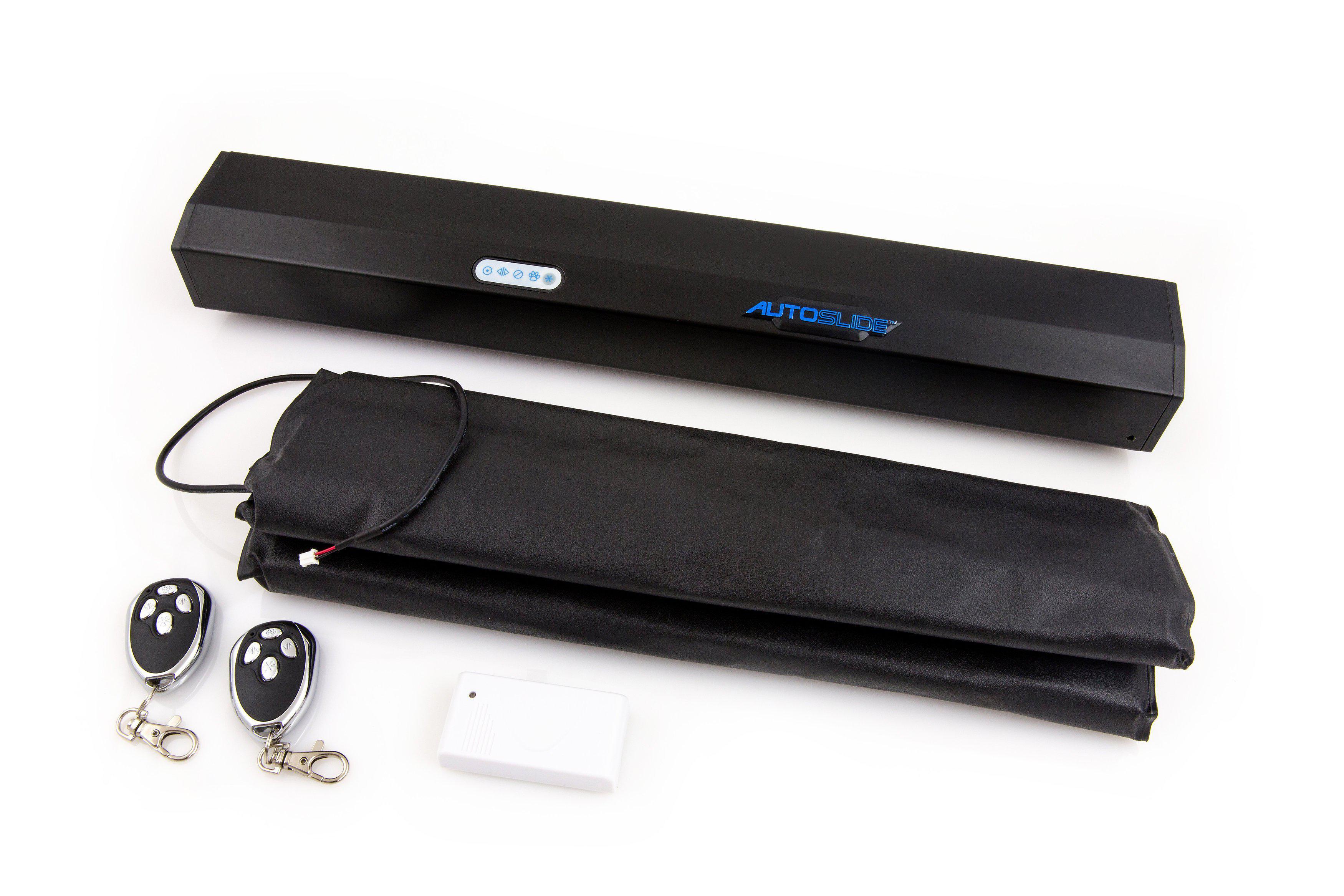 autoslide automatic sliding patio door system pressure activated electronic doormat pet door kit