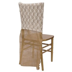 Burlap Chair Covers For Sale Design Malaysia Ivory Classic Lace Cover Urquid Linen