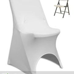 Folding Chair Foot Caps Clear Desk Ikea Spandex Cover (90/10 Grade A) – Urquid Linen