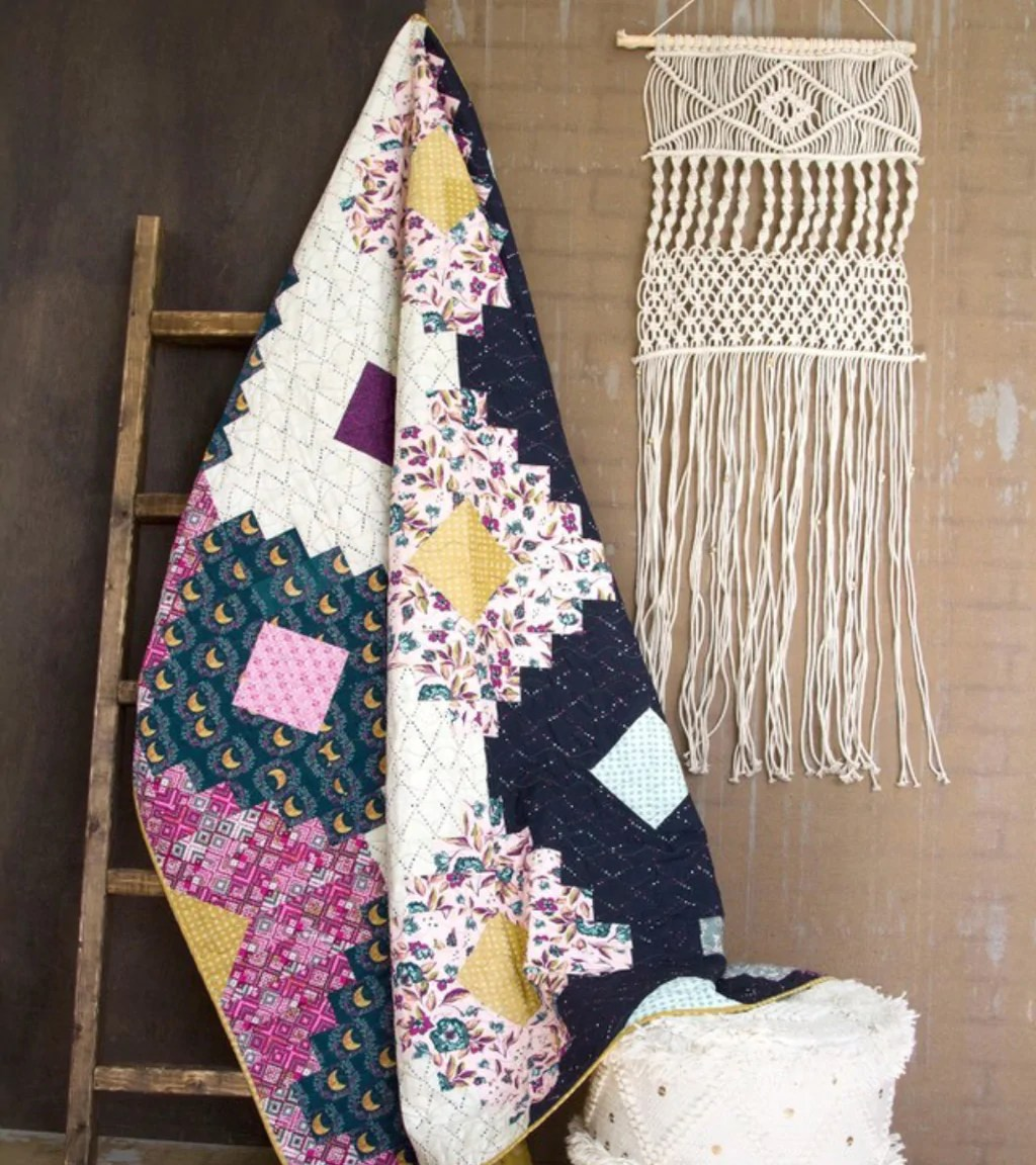 Quilt Kit Lady Belle Fabric
