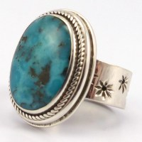 Persian Turquoise Ring  Garland's Indian Jewelry