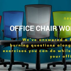 Office Chair Exercises White Chairs For Weddings Workouts How To Easily Keep Fit At Your Desk