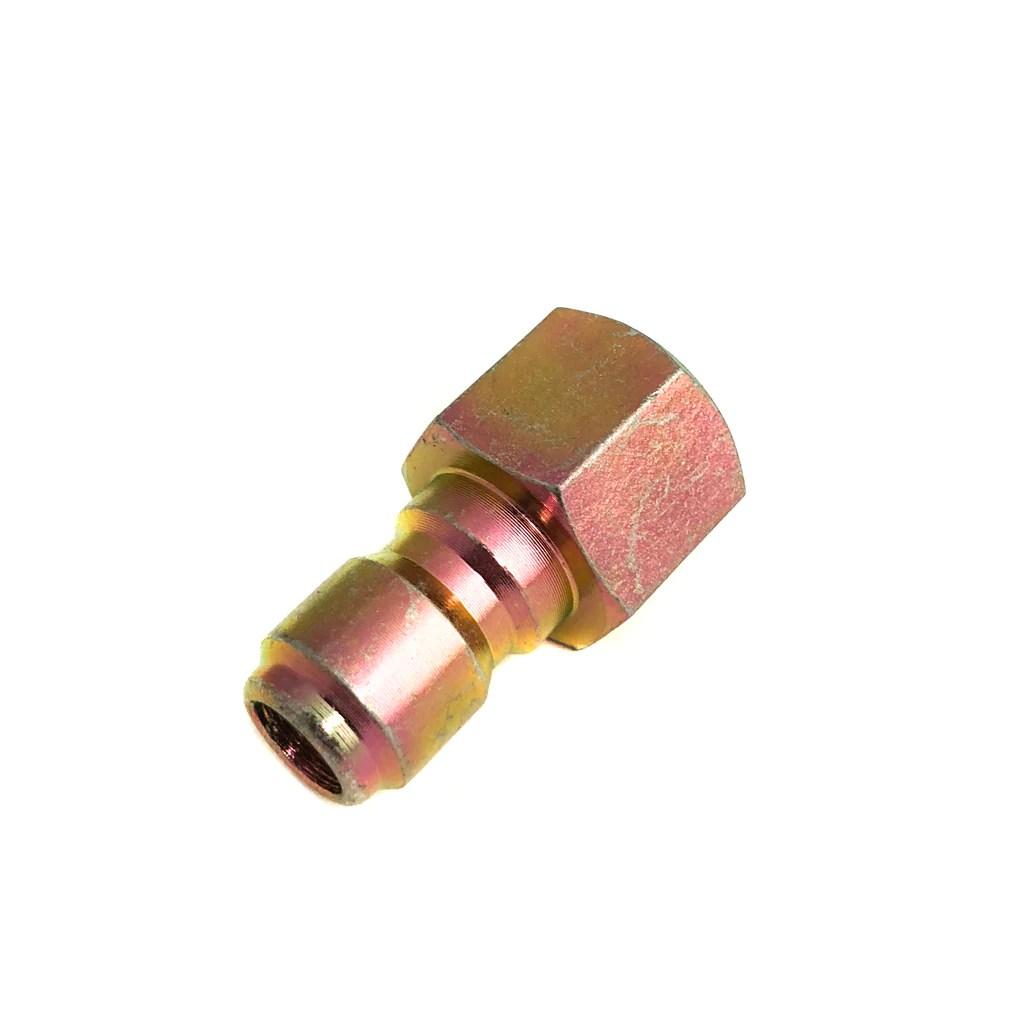 pressure washer fitting brass 3 8 qd plug x 3 8 female [ 1024 x 1024 Pixel ]