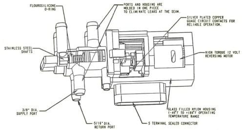 Pollak 6 Port Fuel Valve Motorised 42159 Dual Fuel Tanks – Scintex Australia