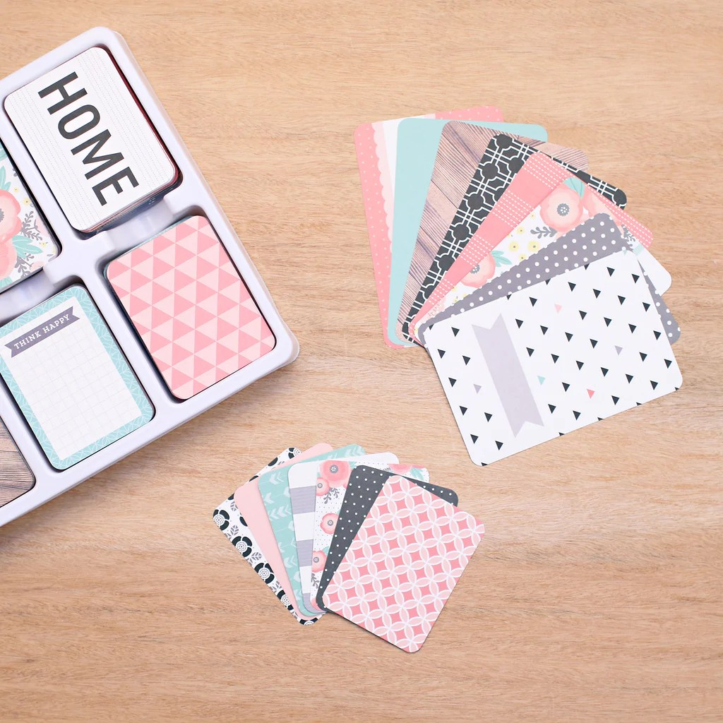 Cottage Living Core Kit - Project Life Scrapbooking Card ...