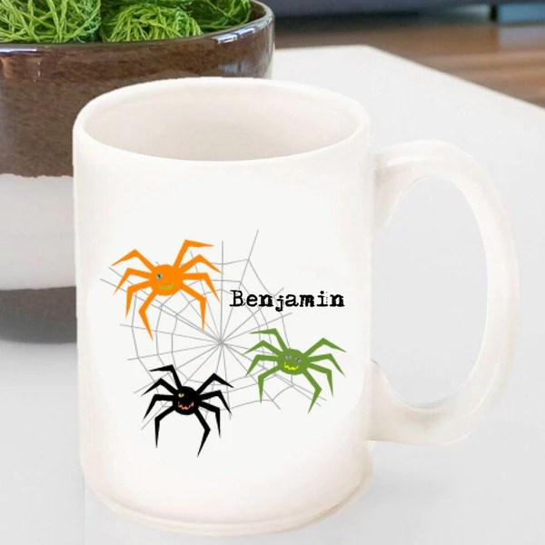 Personalized Halloween Coffee Mugs