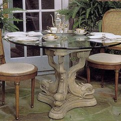 Kitchen Table Base Cheap Small Dolphin Triple Dining 29h Home Decor Museumize 4836