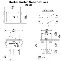 Actuator Wiring Diagram 1999 Mitsubishi Eclipse Radio Rocker Switches For Linear Actuators A Switch
