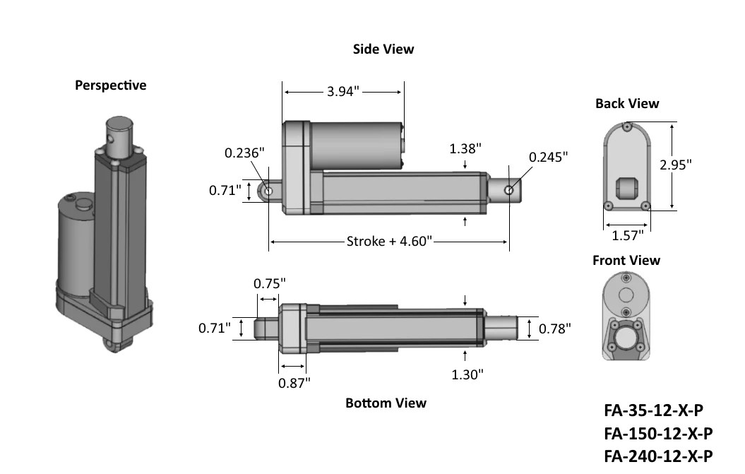 linear actuator wiring diagram haltech e11v2 firgelli premium actuators offering strokes from 1 to 30 inch