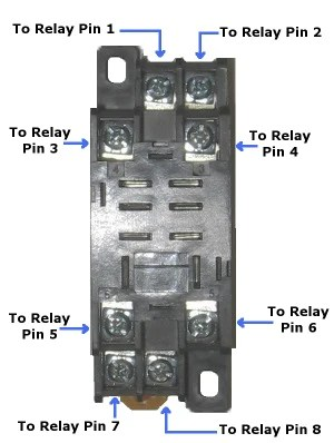 dpdt relay wiring diagram kawasaki mule 3010 parts 12 volt double-pole double-throw quick connect socket